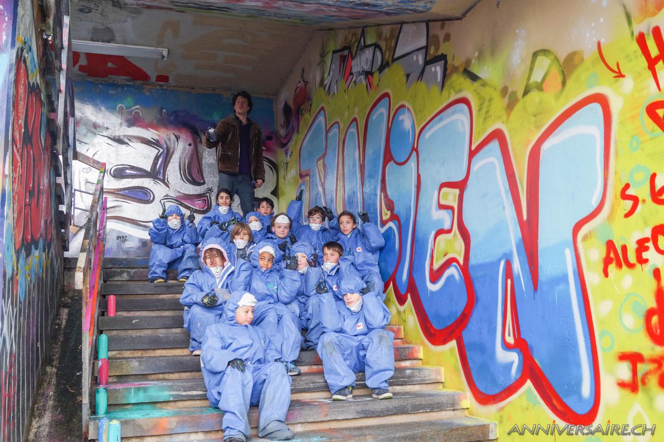 Anniversaire Graffiti De Julien Anniversaire En Suisse